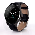 New Round Bluetooth Smartwatch K88H Clock Health Metal Smart Watch with Heart Rate Monitor for iphone