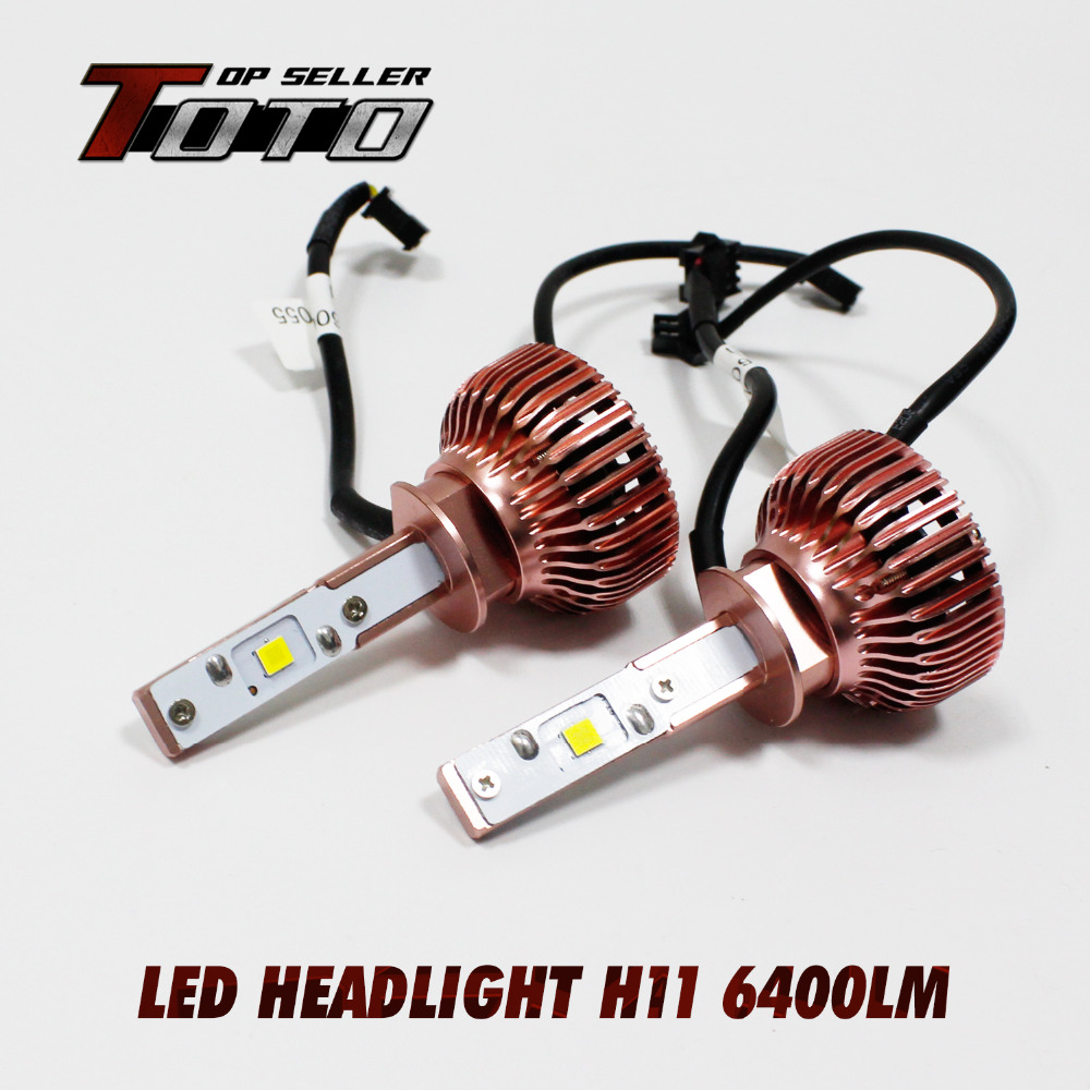 Factory Direct Sales!!! NEW 2x H11 60W/Set 7200LM CREE LED Car Auto White Fog DRL Driving Headlight Kit Bulbs w/ Fans DC 12-24V<br><br>Aliexpress