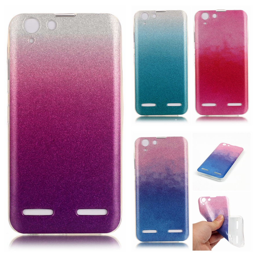 Lenovo K5 Cases Silicone Phone Case Lenovo Vibe K5 Cover Glitter Bling Transparent Side Case Lenovo Vibe K5 Plus Cover Co.,Ltd )