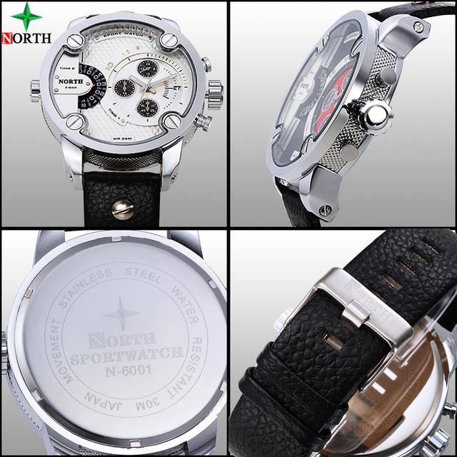 Zegarek męski Diessol sportowy styl wielofunkcyjny wodoodporny