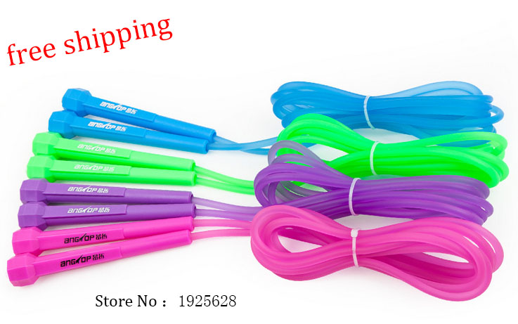 free shipping ! hot sale , adjustable losing weight training movement jump rope , sports jump rope(China (Mainland))