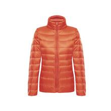Unten jacke frauen mit kapuze ultra dünne 90% Ultra Licht ente unten mantel Weibliche winter große größen Solide Tragbare warme jacken frau(China)