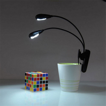High Quality Adjustable Goosenecks Clip on LED Lamp for Music Stand and Book Reading Light Free Shipping 1.11