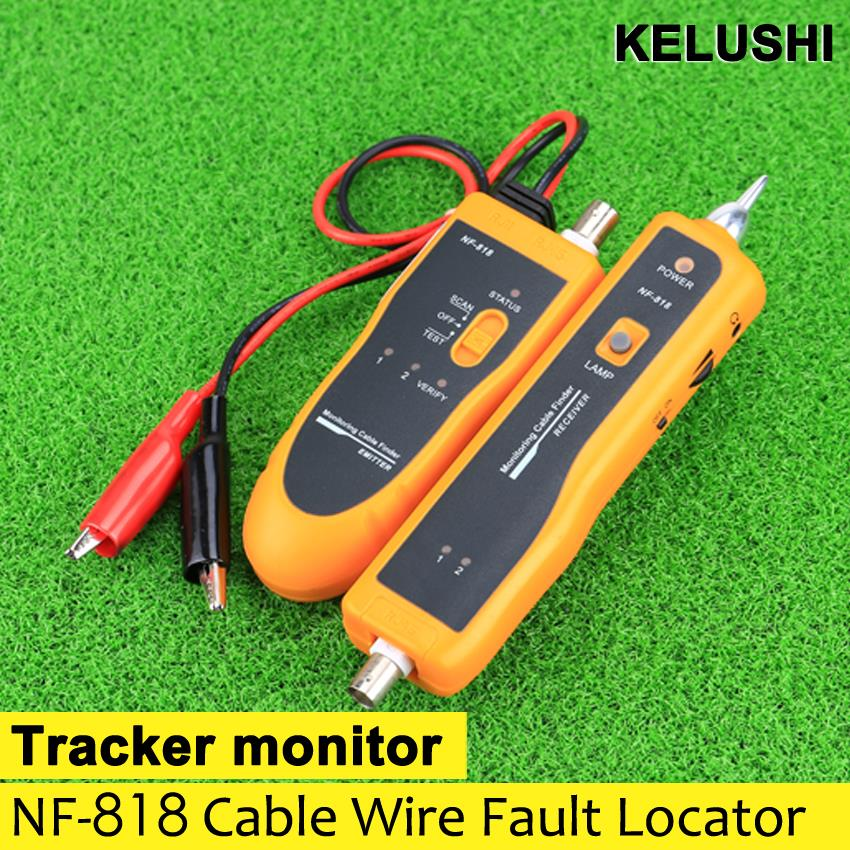 BNC Cable tracker NF-818 monitor line scanner&tester Cable Wire Fault Locator identify the location of break cables easily(China (Mainland))