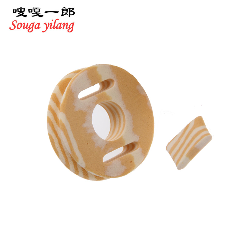 Hot Sale High Quality Small Fishing Tackle Gear Round Soft Froth Winding Board Fishing Line Accessories(China (Mainland))