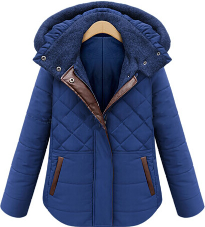 2015 new women's fall and winter clothes thick cotton short coat female short paragraph Slim warm padded cotton jacket(China (Mainland))