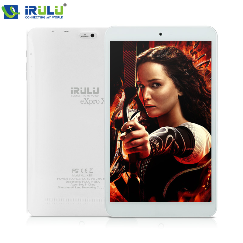 "iRULU eXpro X1s 8"" Android 5.1 Tablet PC 1280*800 IPS Quad Core Tablet WIFI Dual Camera 16GB ROM Download Google Play APP HDMI(China (Mainland))"