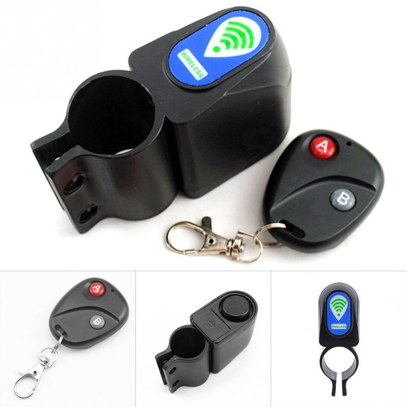 Remote Control 10M Wireless Alarm Lock Bicycle Bike Security System