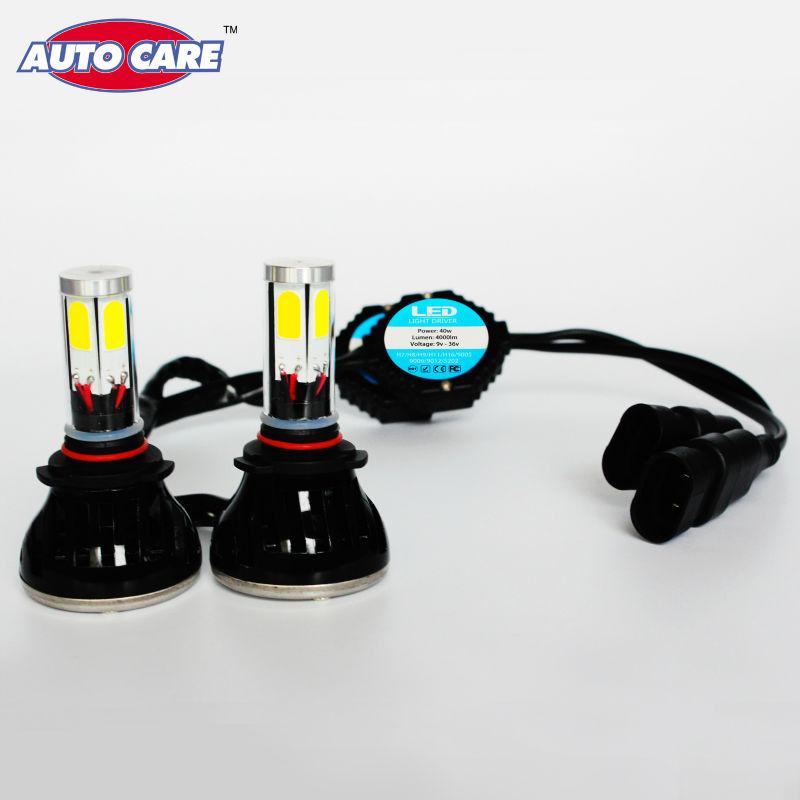 Led 9006 Cob Car DRL Headlight Fog Lamp HB4 Leds Head Light 4000LM Xenon 6000K Lamp Bulb Replacement for INFINITI/Nissan/Dodge(China (Mainland))