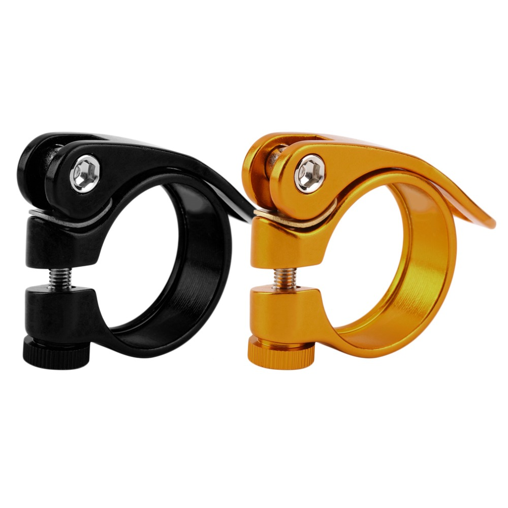 Hot Rabid Seat Post Clamp Quick Release Aluminium for Bike Bicycle 34.9mm free  shipping<br><br>Aliexpress