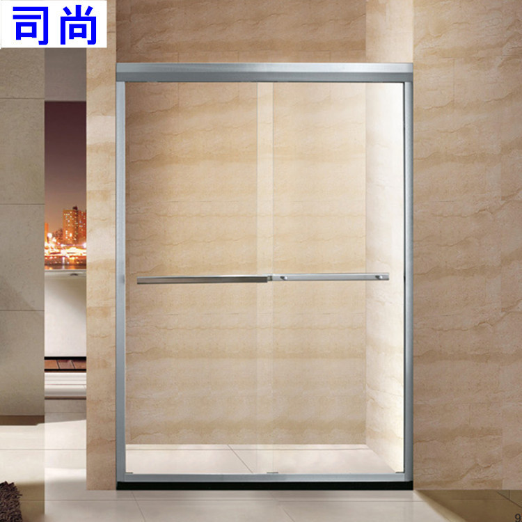 manufacturers a font double sliding glass shower doors