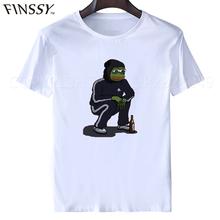 Buy Dank Memes t shirt 2017 Tee shirts Pepe Custom Short Sleeve Boyfriend's Male Coole Tee Shirts Plus Size XXXL free for $6.99 in AliExpress store