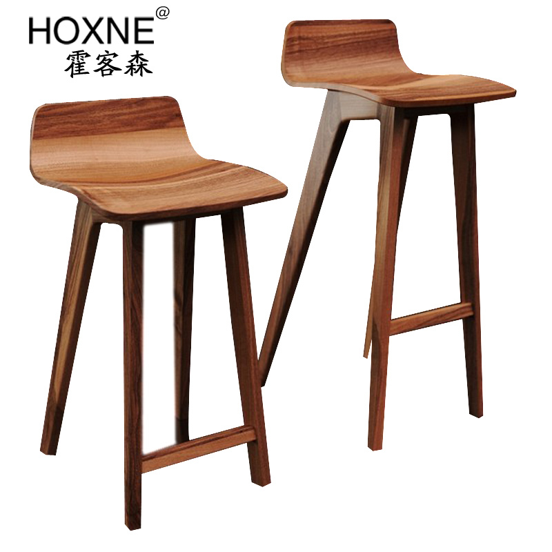 Huo Sen MORPH BAR CHAIR passenger lounge bar chair bar  : Huo Sen MORPH BAR CHAIR passenger lounge bar chair bar stool wood minimalist Scandinavian IKEA from www.aliexpress.com size 800 x 800 jpeg 151kB