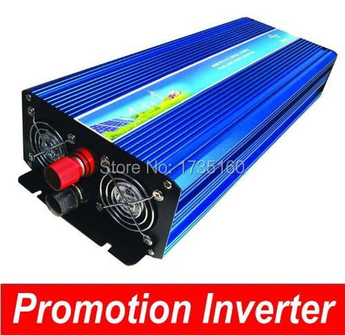 inversor de onda sinusoidal modificada Modified sine wave solar inverter 3000w 24V 220v wind generator with invertor.(China (Mainland))