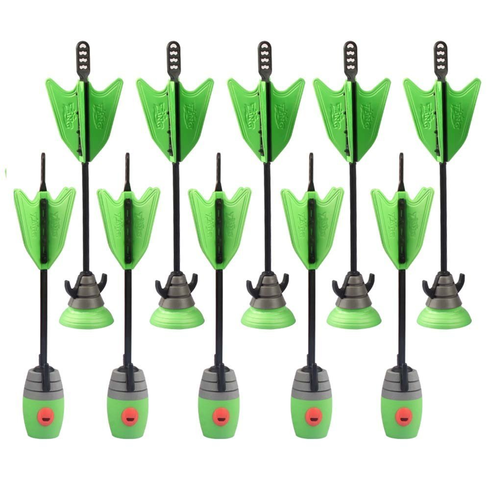 Zing Toys Air 2 Units Extra Arrows Suction Cup Arrows Refills Whistle Arrows Green Orange For Zing Bow Kids Children Outdoor Toy(China (Mainland))
