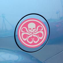 Z088 Anime Logo 10.8*10.8cm Waterproof Reflective Tide Fashion Car Sticker For Motorcycle Car Graffiti Cartoon Sticker