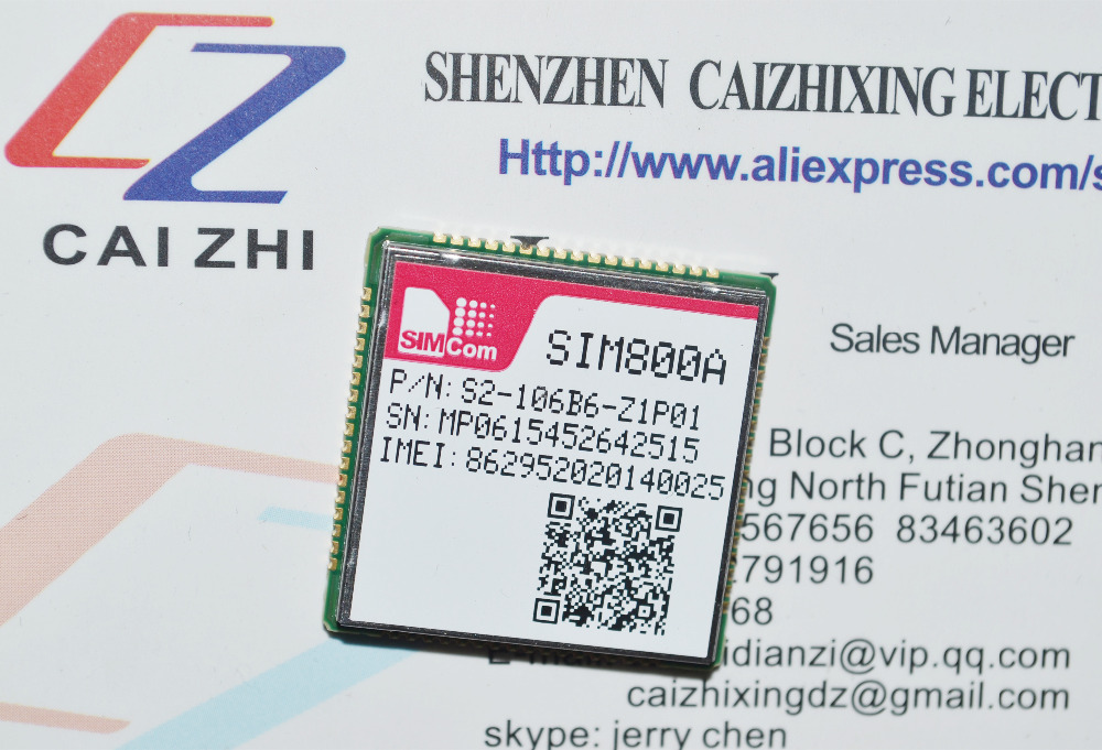 SIMCOM Newest original module GSM/GPRS SIM800A module pin to pin and can replace to SIM900A module with high performance(China (Mainland))