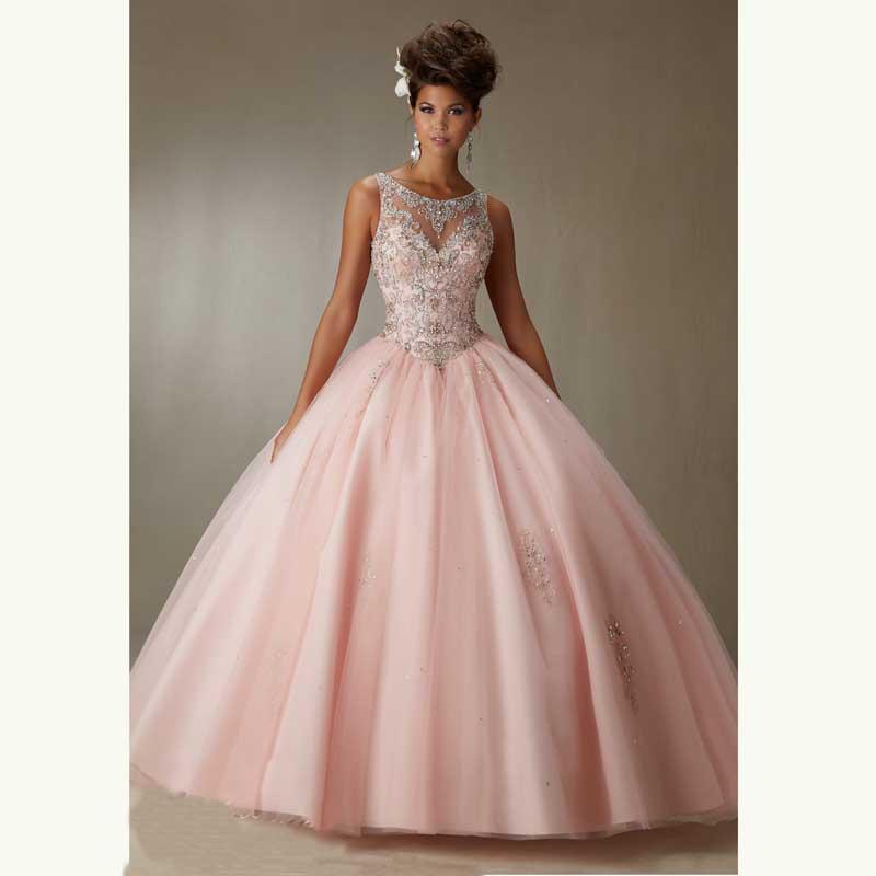 Online Get Cheap Prom Dresses Light Pink Ball Gown -Aliexpress.com ...