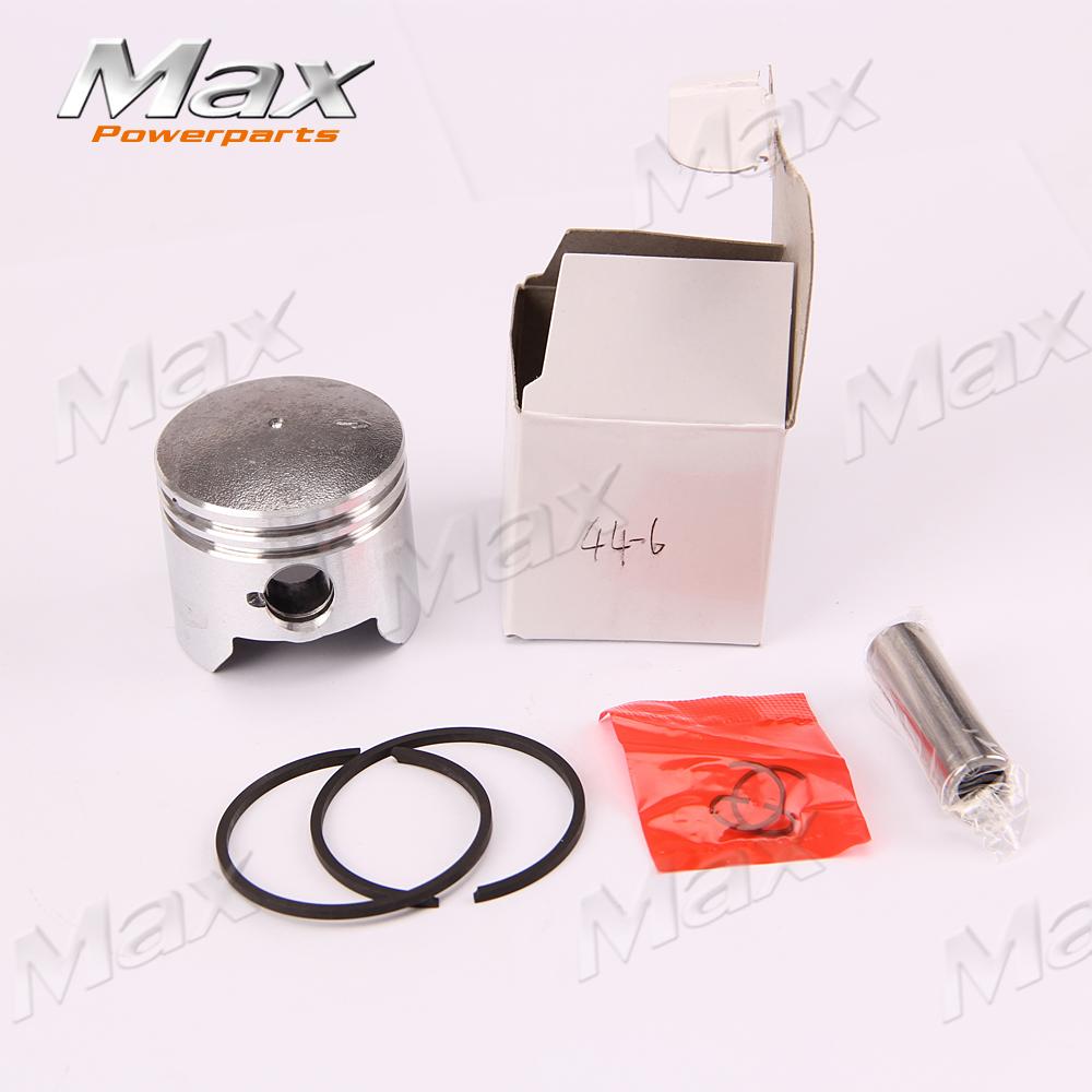 44-6 Engine Piston Ring Piston Pin Sets Fit To Motorcycle Dirt Pit Bike ATV QUAD Parts Free Shipping Kawasaki Yamaha(China (Mainland))
