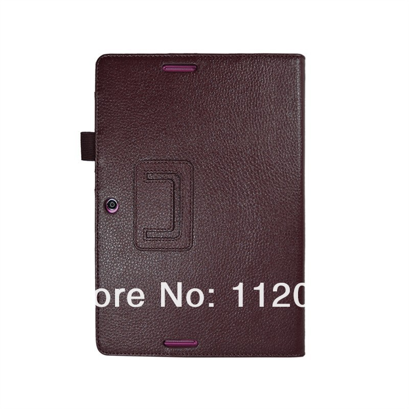 Card Slot Design Lychee PU Leather Skin Case Cover for ASUS ME301T 10.1 inch Tablet PC,9 Colors+gift one pc screen protectors.(China (Mainland))