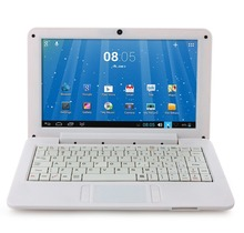 Free Shipping New Notebook 9.0 Inch Dual Core VIA WM8880 Android 4.2 4GB White With Russian Keybaord(China (Mainland))