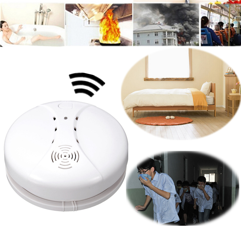 High Quality More Than 85dB CD21 Independent Wireless Smoke Detector Fire Alarm Sensor Gas Alarm(China (Mainland))