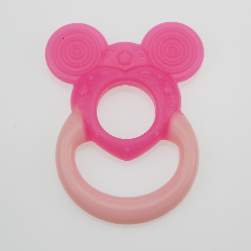 2016 Hot Cute Baby Product Silicon Baby Teether  Infant Training Toddler Chewing Cool Toothbrush  Massager Silicone YJ-S02<br><br>Aliexpress