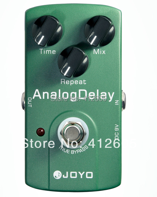 musical instrument! electric guitar Effect Pedal,JOYO pedal guitar pedal delay JF-33 Analog Delay/ True bypass design(China (Mainland))