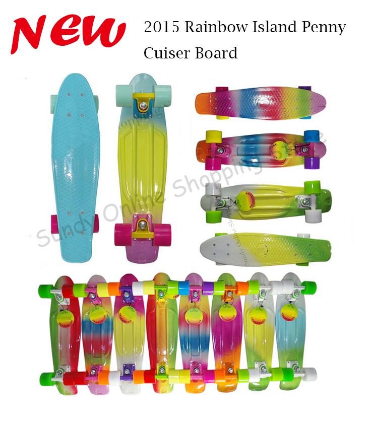 Penny Skateboard Multicolor Island Penny Skateboard
