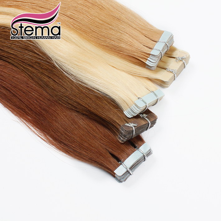Free Shipping Cheap 16 28 20 Tape in Human Hair Extension Brazilian Thick Skin Weft Tape Hair Extensions Adhesive Products<br><br>Aliexpress