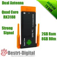 New Mini PC, J22 RK3188 Quad Core 1.4Ghz Android 4.2 Mini PC 2GB+8GB Android TV Box, Smart TV Box, Bluetooth 4.0, Dual Antenna
