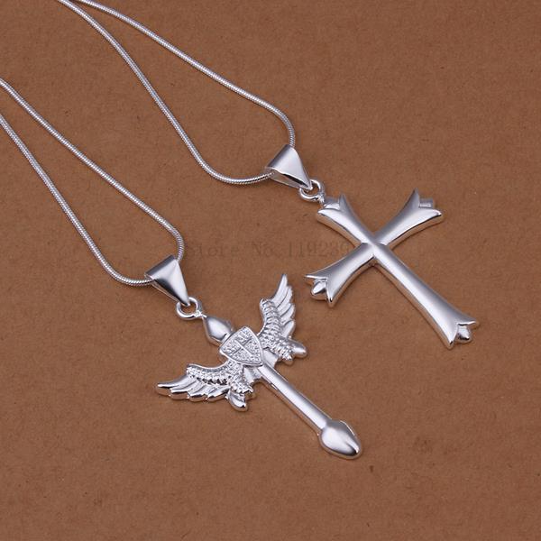 LS369 2015 bulk sale cheap bridal party jewelry setssideway cross pendant items accessories(China (Mainland))