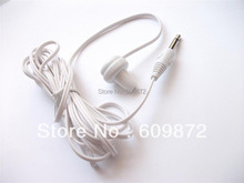 Patient in-ear single side mono earphones hospital tv hearing Aid earbud 3000pcs/lot