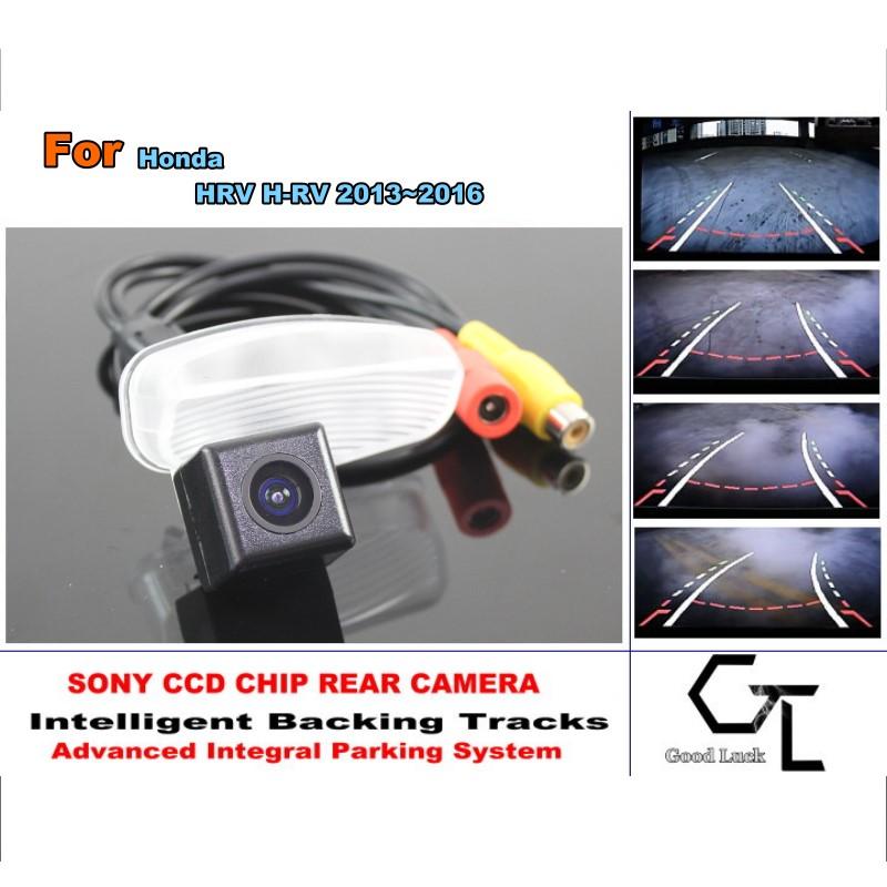 Здесь можно купить  For Honda HRV H-RV 2013 ~ 2016 Car Reverse Rear Camera with Parking Assistance Tracks Module / imports HD CCD  Автомобили и Мотоциклы