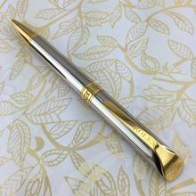 Каваи стильный лучший дизайн серебро золотой R шариковая ручка и брэнд подарок для бизнес