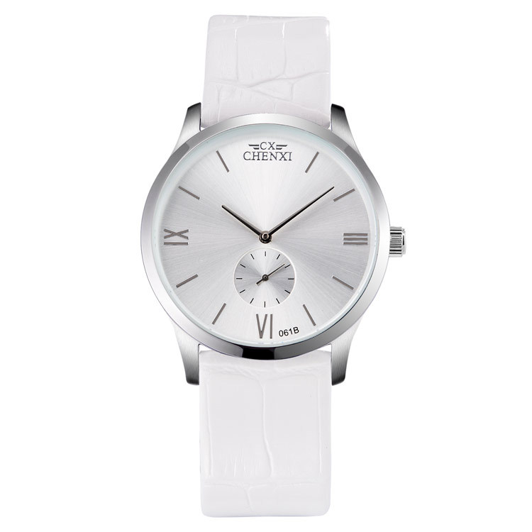 2016 Casual Genuine Leather Belt Women Watches Minimalism Fashion Quartz Couple Watches Waterproof His and hers Gift Wristwatch(China (Mainland))