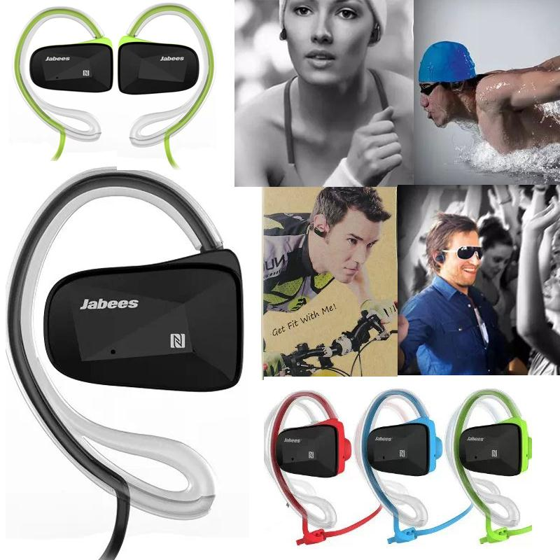 New Arrival Jabees BSport Sports Waterproof Bluetooth 4.0 Wireless Headset Stereo Headphone Earphone For Universal Cellphones(China (Mainland))