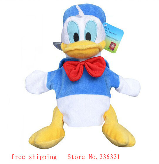 Latest Classic Cartoon Stuffed & Plush Animals Daisy Duck Donald Duck Plush Toys for girls Kids Baby Dolls size 23cm wholesale(China (Mainland))