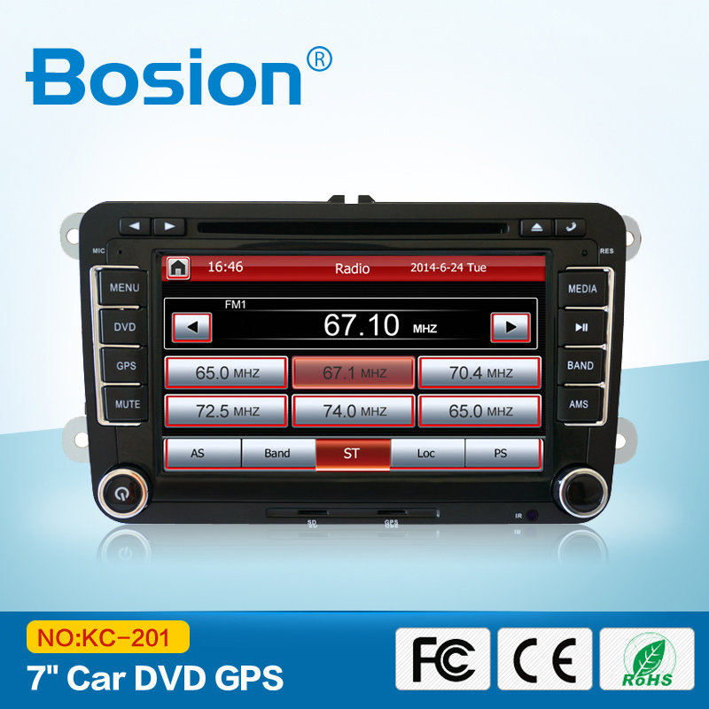 Free Shipping For VW BORA VW AMAROK Golf Pasat Jetta 2014 New Windows CE OS 7'' HD CAR DVD With GPS 3D UI Factory Outlet(China (Mainland))