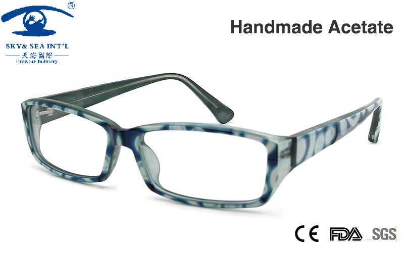 Blue Glasses Frames Ladies : Aliexpress.com : Buy New Eyeglasses Frames Women Acetate ...