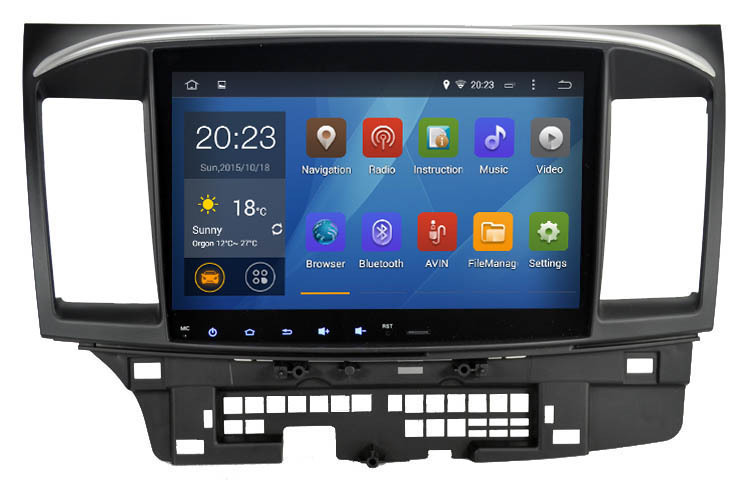 """10.2"""" Quad Core Android GPS for Mitsubishi Lancer Galant 1024*600 CPU 1.6G RAM 1G iNAND 16G auto multimedia Stereo SAT nav Wifi(China (Mainland))"""