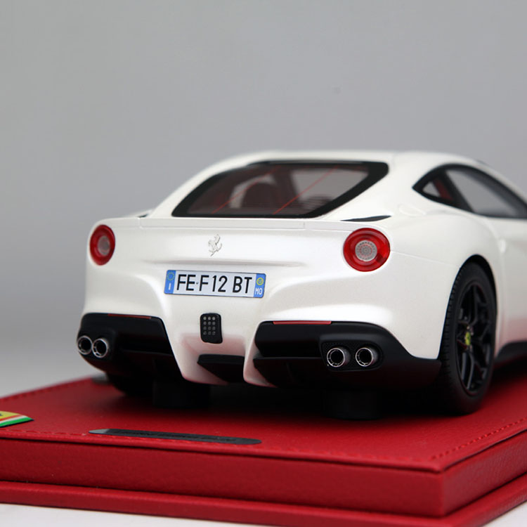 BBR 1/18 Scale Italy Fe-*rr*a.ri F12 Berlinetta Supercar Handmade Resin Car Model Toy New In Box For Collection/Gift