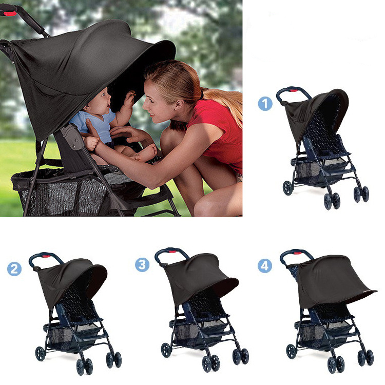Baby Stroller Protection Accessory Stroller Rain Cover Rag Shade Block UV UVB Sun Rays Cover Car Awning Tent Multifunctional(China (Mainland))