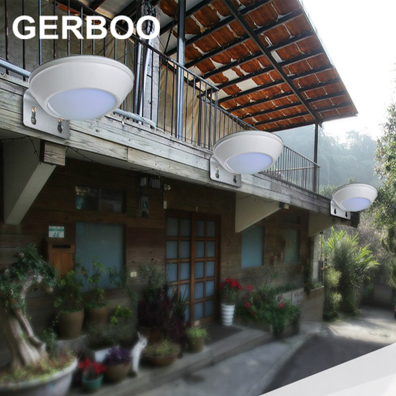 16 LED Solar Powered Radar Sensor Light Outdoor Solar Led Flood Lights Spotlights Garden Patio Pathway Lamps Emergency Lighting(China (Mainland))