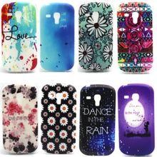 Gel TPU Slim Soft Case Back Cover For Samsung Galaxy S3 Mini i8190 Phone silicone Protective Bags Cases