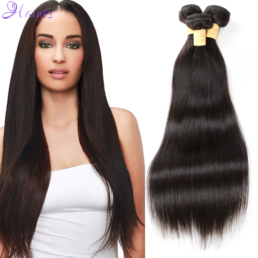 Brazilian Virgin Hair Straight Remy Human Hair Straight Brazilian Virgin Hair Weave Queen Hair Brazilian Virgin Hair 4 pcs lot