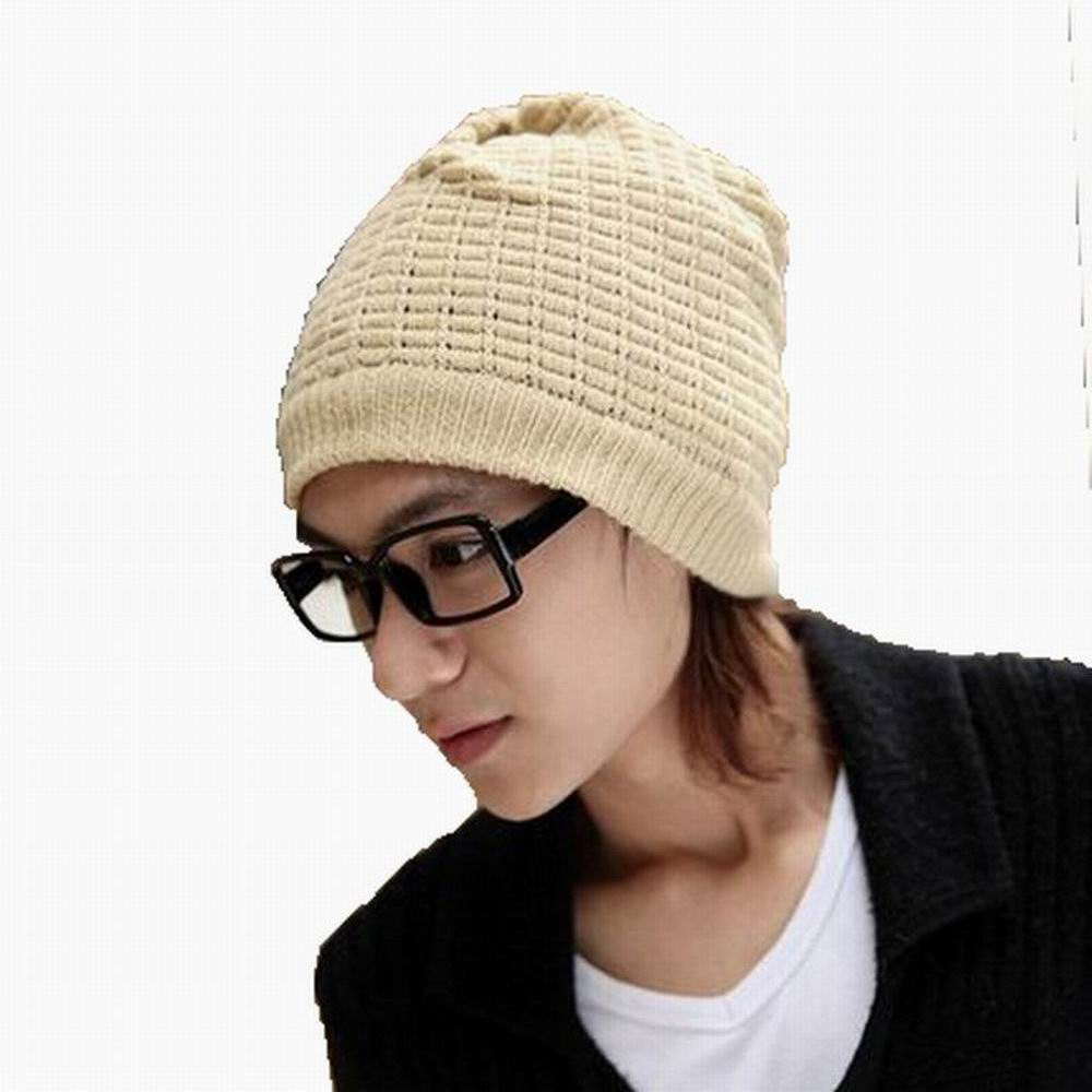 2016 New Brand Dual Use Knitting Wool Empty Top Beanies Fashion Warm Scarf Winter Male Warmth Cap Outdoor Spirng Windproof Hat(China (Mainland))