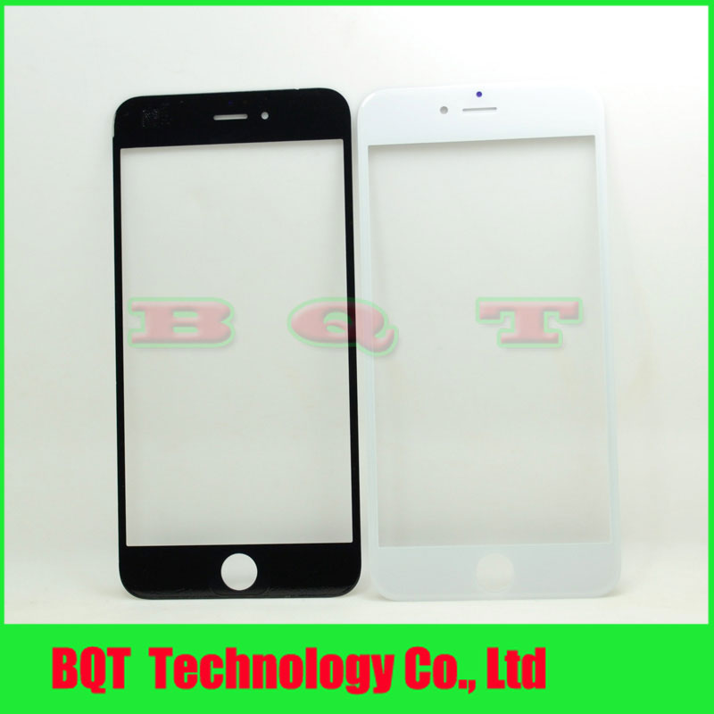 Replacement Outer Glass Lens For Apple iPhone 6s plus 5.5 LCD Front Touch Screen Digitizer Glass Free shipping(China (Mainland))