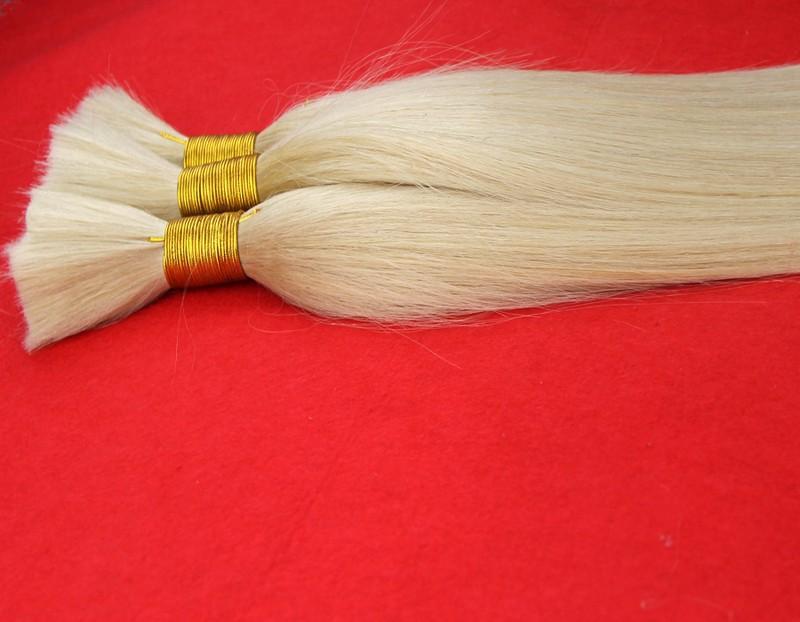 Brazilian Virgin Straight Human Hair Braiding Bulk No Weft 7A Unprocessed Hair For Braids Bulk Hair Extensions #613 100g 300g