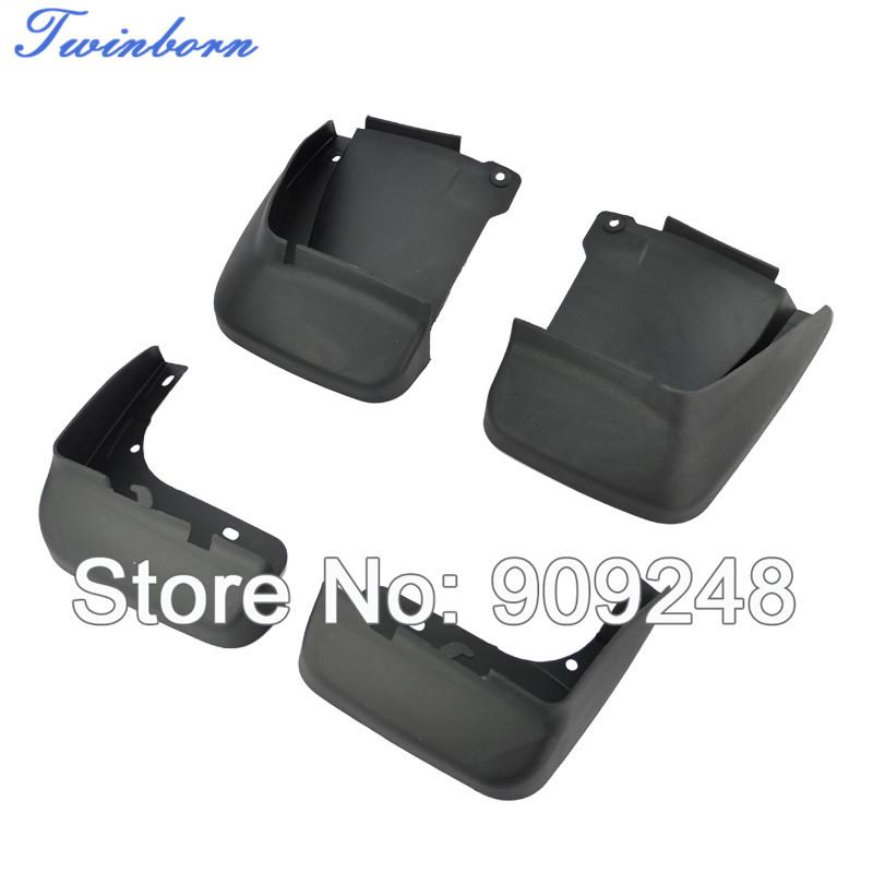 For 03-07 Honda Accord Splash Mud Guard ABS Plastic 4pcs/set Protective Fender(China (Mainland))